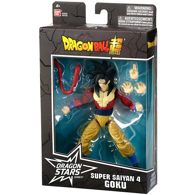ドラゴンボール超 ドラゴンスターズ 6インチ アクションフィギュア シリーズ9 スーパーサイヤ人4 孫悟空