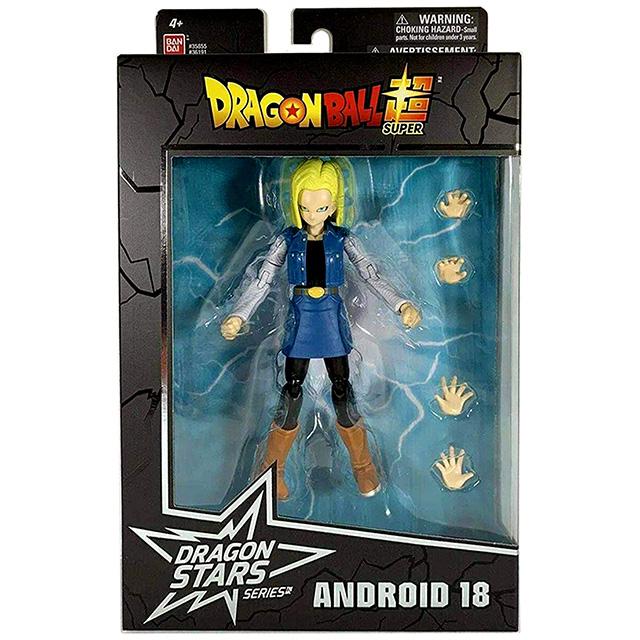 Dragon Ball Super Dragon Stars Android 18 Figure Bandai Sealed