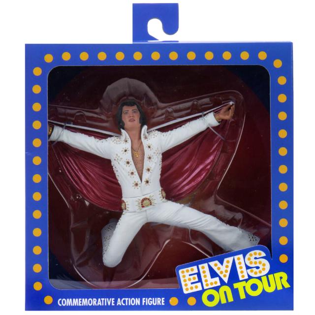 ネカ エルヴィス・プレスリー ライブ・オン・ツアー '72 コメモラティブ フィギュア エルヴィス・プレスリー