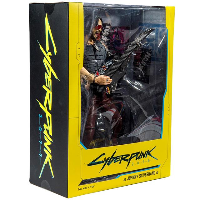 サイバーパンク2077 マクファーレントイズ 12インチ デラックス フィギュア ジョニー・ シルヴァーハンド