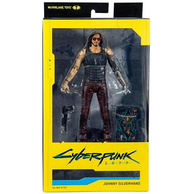 サイバーパンク2077 マクファーレントイズ 7インチ アクションフィギュア ジョニー・ シルヴァーハンド (ダッフルバッグ バリアント)