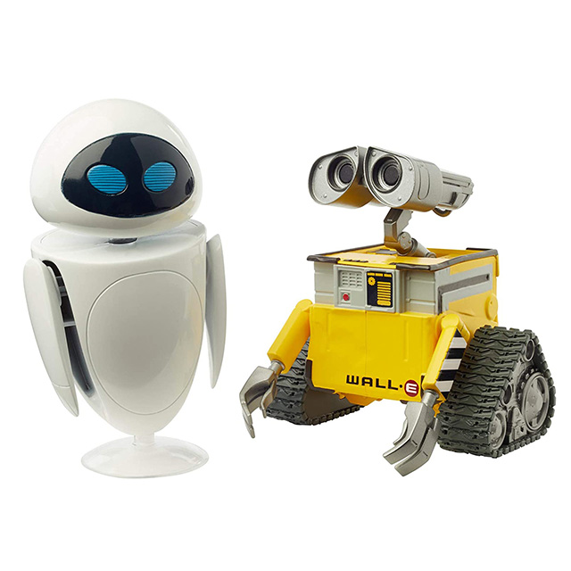 ディズニー/ピクサー WALL-E マテル アクションフィギュア 2パック ウォーリー & イブ (ボックスパッケージ バージョン)