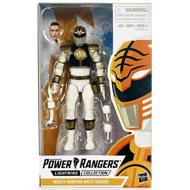 ハズブロ パワーレンジャー ライトニングコレクション 6インチ アクションフィギュア 『マイティ・モーフィン』 ホワイトレンジャー