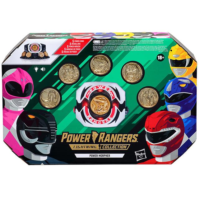 ハズブロ パワーレンジャー ライトニングコレクション レプリカシリーズ 『マイティ・モーフィン』 パワー・モーファー