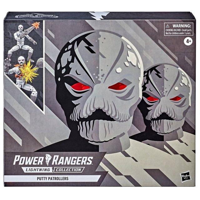 ハズブロ パワーレンジャー ライトニングコレクション 6インチ アクションフィギュア 2パック 『マイティ・モーフィン』 パティ パトローラーズ