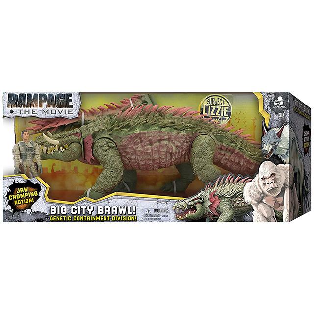 ランペイジ / 巨獣大乱闘 2018 ウォルマート限定 ビッグシティブロウル フィギュアパック サブジェクト リジー