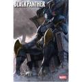 アメリカンコミックス マーベルキャラクター ポスター ブラックパンサー by ウドン
