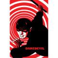 アメリカンコミックス マーベルキャラクター ポスター デアデビル by マイケル・チョー