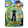 カートゥーンネットワーク ベン10 リブートシリーズ 6インチ パワーアップ アクションフィギュア ダイヤモンドヘッド