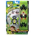 カートゥーンネットワーク ベン10 リブートシリーズ オムニ・ランチ プレイセット バトルフィギュア 3パック (ダイアモンドヘッド&フォーアームズ&ワイルドバイン)