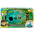 カートゥーンネットワーク ベン10 リブートシリーズ 4インチ フィギュア&ビークル セット ダイヤモンドヘッド パワータンク