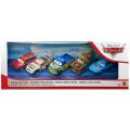 カーズ 2020 マテル 1/55スケール ダイキャスト ミニカー ピストンカップ・レース 5パック (キット・レブスター & T.G キャッスルナット & デクスター・フーバー & メーター & キング)