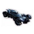 バットマンvsスーパーマン/ジャスティスの誕生 メタリック ダイカットステッカー バットモービル 【メール便可】