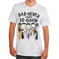 DCコミックス スーサイド・スクワッド BAD NEVER LOOKED SO GOOD ホワイト Tシャツ