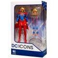 DCコレクティブルズ DCコミックス アイコンズ 6インチ アクションフィギュア スーパーガール (DCリバース)