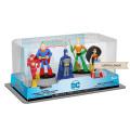 DCコミックス ファンコ ヒーローワールド PVC コレクティブル ミニフィギュア 5パック (バットマン&スーパーマン&ワンダーウーマン&フラッシュ&アクアマン)