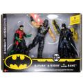 マテル バットマン ナイトミッションズ 6インチ アクションフィギュア 3パック バットマン & ロビン & ベイン