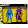 DCコレクティブルズ ドゥームズデイ・クロック 6.75インチ アクションフィギュア 2パック Dr.マンハッタン & オジマンディアス