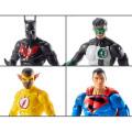 マテル DCコミックス マルチバース 6インチ アクションフィギュア ロボシリーズ 4体セット (バットマン・ビヨンド & スーパーマン & キッド・フラッシュ & カイル・ライナー)