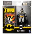 スピンマスター DCコミックス クリーチャーカオス 4インチ アクションフィギュア ミステリー・アクセサリーパック バットマン (グレースーツ)