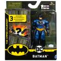 スピンマスター DCコミックス クリーチャーカオス 4インチ アクションフィギュア ミステリー・アクセサリーパック バットマン (ブルースーツ)