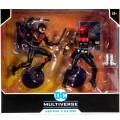 マクファーレントイズ DC マルチバース 7インチ アクションフィギュア 2パック 『ニュー52』 ナイトウィング & レッドフード