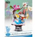 ディズニー ビーストキングダム Dステージ PVCスタチュー #010 『ふしぎの国のアリス』