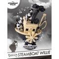 ディズニー ミッキーマウス 90周年記念 ビーストキングダム Dステージ PVCスタチュー DS-017  『蒸気船ウィリー』