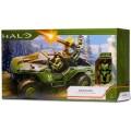 ジャズウェア HALO ヘイロー ワールド・オブ・ヘイロー 4インチ アクションフィギュア デラックス ビークルパック ワートホグ & マスターチーフ