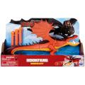 ヒックとドラゴン / 新たな世界へ! ドラゴンブラスター 12インチ フィギュア フックファング / モンスターナイトメア