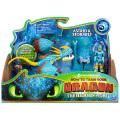 ヒックとドラゴン3 / 聖地への冒険 スピンマスター ドラゴンライダー フィギュアセット ストームフライ & アスティ