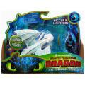 ヒックとドラゴン3 / 聖地への冒険 スピンマスター ドラゴンライダー フィギュアセット ライトフューリー (ブルーパターン) & ヒック