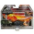 ジュラシック・ワールド / 炎の王国 マッチボックス 1:64スケール ダイキャストカー&ダイノパック ティラノ・ハウラー