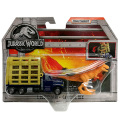 ジュラシック・ワールド / 炎の王国 マッチボックス 1:64スケール ダイキャストカー&ダイノパック Tレックス・トレイラー