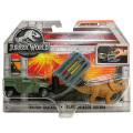 ジュラシック・ワールド / 炎の王国 マッチボックス 1:64スケール ダイキャストカー&ダイノパック トリケラ・トラッカー