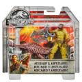 ジュラシック・ワールド / 炎の王国 マテル 3.75インチ ベーシックフィギュア 1パック マーセナリー & アンキロサウルス
