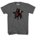 キャプテン・アメリカ / シビルウォー ウィンター・ソルジャー チャコールグレー Tシャツ メンズSサイズ