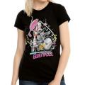 マーベルコミックス アンビリーバブル グウェンプール レディース Tシャツ
