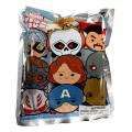 マーベルコミックス マーベルツムツム フィギュラル 3Dフォーム キーリング ブラインドバッグ 1パック (キーリング1個入り)