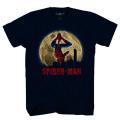 スパイダーマン:ホームカミング シティ・ハンガー ネイビー Tシャツ