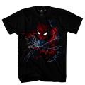 スパイダーマン:ホームカミング アクシデンタリー・オーサム ブラック Tシャツ