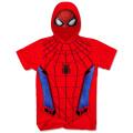 スパイダーマン:ホームカミング フード付き スパイダーマン コスチューム Tシャツ