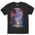 マーベルコミックス ガーディアンズ・オブ・ギャラクシー:リミックス ファミリー・フォーエバー アンビグラム Tシャツ