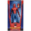 スパイダーマン:ホームカミング ネカ 1/4スケール 18インチ アクションフィギュア スパイダーマン