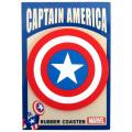 マーベルコミックス ポップアイコンズ ラバーコースター キャプテン・アメリカ 【メール便可】