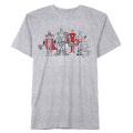 マーベルコミックス アーティスト コラボレーションシリーズ アベンジャーズ by ジャスティン・ハーダー ライトグレー Tシャツ