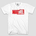マーベルコミックス マーベル ロゴ ホワイト Tシャツ