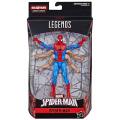 ハズブロ スパイダーマン マーベルレジェンド 6インチ アクションフィギュア キングピンシリーズ シックスアーム スパイダーマン