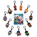 アベンジャーズ / エンドゲーム フィギュラル 3Dフォーム バッグクリップ シリーズ2 ブラインドバッグ 1パック (クリップ付きフィギュア1個入り)
