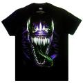 マーベルコミックス ヴェノム スパイダーマン・イン・アイズ ブラック Tシャツ